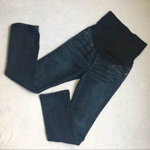 Liz Lange Maternity Straight Blue Jeans Size 2